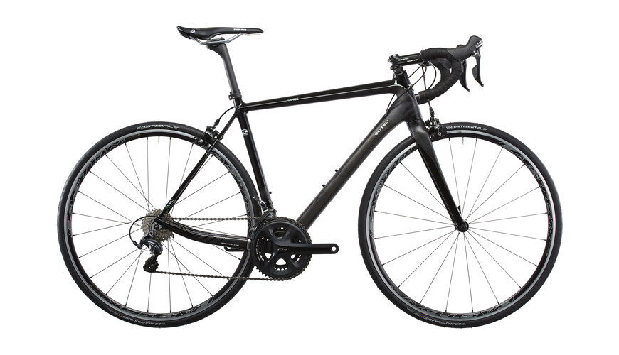 VOTEC VRC Comp - Carbon Rennrad - black